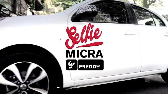 Nissan Micra Freddy Selfie